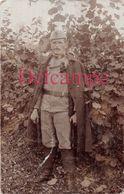 Carte Photo D'un Soldat Allemand - Légende Au Dos - Guerre 1914 1918 - Weltkrieg 1914-18