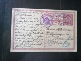 AUSTRIA BAD ISCHL TO GENEVE SUISSE WWI - CENSURE 339 - Austria