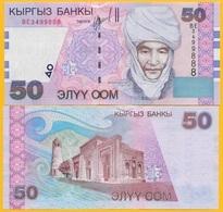 Kyrgyzstan 50 Som P-20 2002 UNC - Kirgizïe