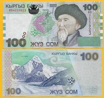 Kyrgyzstan 100 Som P-21 2002 UNC Banknote - Kirgizïe