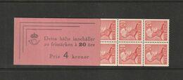 1942 4KR BOOKLET - 1904-50