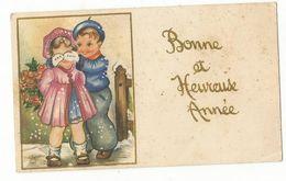 CPSM, Mignonnette , Bonne Et Heureuse Année , Enfants  Ed. 1954 - Neujahr