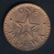 Ghana, 1 Pesewa 1967, UNC - Ghana