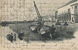 X117283 ANDALUCIA BAHIA DE CADIZ CADIZ PUERTO DE SANTA MARIA LA RIBERA EDITOR HAUSER Y MENET PRECURSOR ANTES DE 1904 - Cádiz