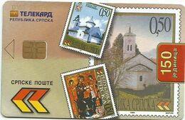 Bosnia (Serb Republic) 2001. Chip Card 150 UNITS - Bosnie