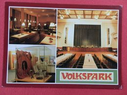 DEUTSCH , Cpm  HALLE , Volkspark  , Multivues (335) - Autres