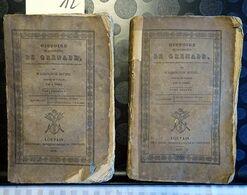 B17 – 12- Histoire De La Conquête De Grenade, + Washington Irving, Louvain 1830, 254 + 256 Pages. ATTENTION - Cultura