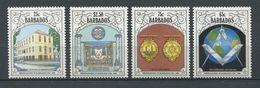 103 BARBADES 1990 - 250 Ans Franc Maconnerie Masonic  Freemasonry - Neuf ** (MNH) Sans Charniere - Freemasonry
