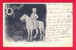 Illust-1583A32  ESPINASSE, Masséna, Reflet Dans La Lune, Cpa Précurseur BE - Künstlerkarten
