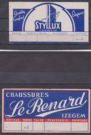 Izegem, Publicité Chaussures Le Renard, Styllus. Belgique. - Advertising