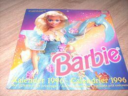 Calendrier  Kalender Barbie 1996 - Grand Format : 1991-00