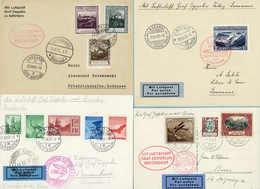 Beleg Sammlungen Und Posten Zeppelin Und Luftpost - Aéreo