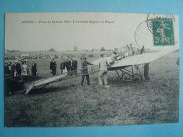 17 - JONZAC - Fêtes Du 15 Août 1913 - L'aviateur Duont Au Départ - 1913 - Poitou-Charentes