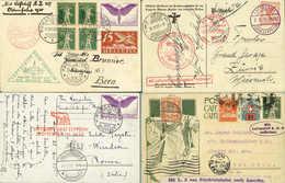 Beleg Schweiz - Primeros Vuelos