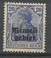 MEMEL N° 5  NEUF*  CHARNIERE  / MH - Memel (1920-1924)