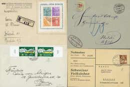 Beleg Schweiz - Lotti/Collezioni