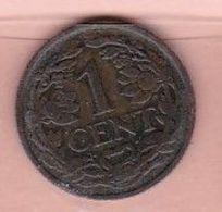 Nederland    1 Cent  1927      Pays-Bas - [ 3] 1815-… : Royaume Des Pays-Bas