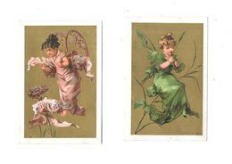 Lot De 2 Chromos SIROP ZED - Trade Cards