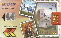Bosnia (Serb Republic) 2000. Chip Card 150 UNITS 150.000 - 08/00 - Bosnie