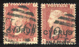 Gest./Briefst./Beleg Zypern - Chypre