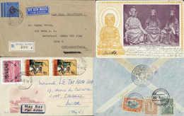 Beleg Sammlungen Und Posten Asien - Briefmarken