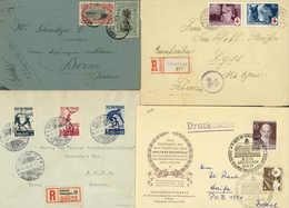 Beleg Sammlungen Und Posten Weltweit - Stamps