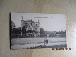 Cpa 89 Coulanges Sur Yonne Villa Riant - Villeneuve-sur-Yonne