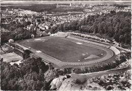 FORBACH Le Stade Et Les Puits De Mine Cpsm Gm - Forbach
