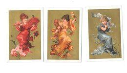 Lot De 3 Chromos QUINA LAROCHE - Trade Cards