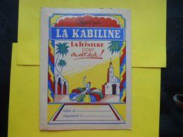 Protège-cahier , Kabiline ,teinture - Wash & Clean