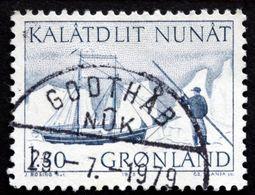 Greenland 1975 Mail Transport By Boat (Søkongen). Minr.93  Cz.Slania  ( Lot D 2784 ) - Groenlandia