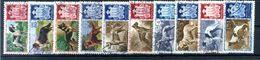 1956 SAN MARINO SET USATO CANI 439/448 - Used Stamps