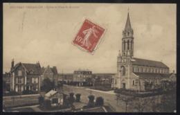 CPA - (78) Nouveau Versailles - Eglise Et Place Saint Antoine - Versailles