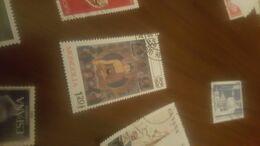 MONGOLIA ARTE  1 VALORE - Briefmarken