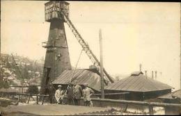 MINES - Carte Postale Photo - Mine Avec Personnages - L 66245 - Mineral