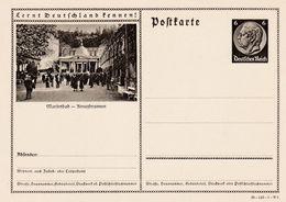 Carte Entier Postal Ganzsache Postkarte Marienbad Kreuzbrunnen - Duitsland