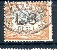 1925 SAN MARINO SEGNATASSE N.25 USATO 3 LIRE - Postage Due