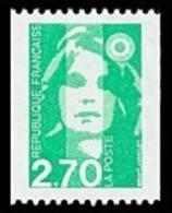 France Marianne Du Bicentenaire N° 3008 ** Briat - Le 2f70 De Roulette Verte - 1989-96 Marianna Del Bicentenario