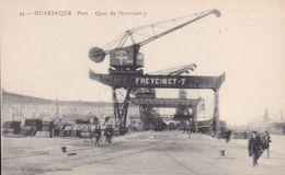 59 - DUNKERQUE - Port - Quai Du Freycinet 7 (pub Au Dos Des Laboratoires P. Michel De CIREY SUR VEZOUZE 54) GRUE - Dunkerque