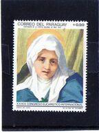 Paraguay - La Vergine Di Andrea Del Sarto - Madonnas