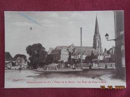 CPA - Châteaubriant - Place De La Motte - La Tour Du Four-à-Ban - Châteaubriant