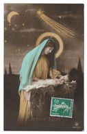 CPA JOYEUX NOEL / SCENE DE NATIVITE - MARIE ET ENFANT JESUS - Weihnachten
