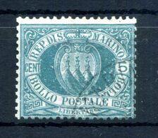 1894-99 SAN MARINO N.27 USATO - Oblitérés