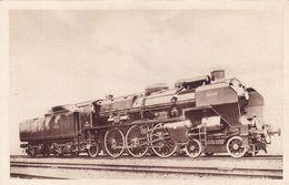 """Chemin De Fer Du Nord - Locomotive """"Pacific"""" Série 31251-31290  Type 1930 Pour La Remorque Des Trains Rapides Lourds - Trains"""