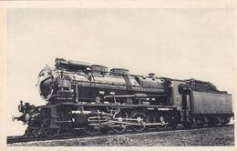 """Chemin De Fer Du Nord - Locomotive """"Consolidation"""" Série 4061-4340 Pour La Remorque Des Trains Lourds De Marchandises - Trains"""