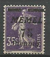 MEMEL N° 55 NEUF* CHARNIERE  / MH - Memel (1920-1924)