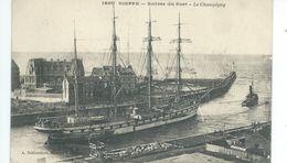 DIEPPE Entrée Du Port   LE CHAMPIGNY - Dieppe