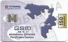 Bosnia (Serb Republic) 2000. Chip Card 150 UNITS 20.000 - 05/00 - Bosnie