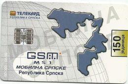 Bosnia (Serb Republic) 1999. Chip Card 150 UNITS 60.000 - 06/99 - Bosnie