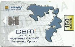 Bosnia (Serb Republic) 1999. Chip Card 150 UNITS 100.000 - 12/99 - Bosnie